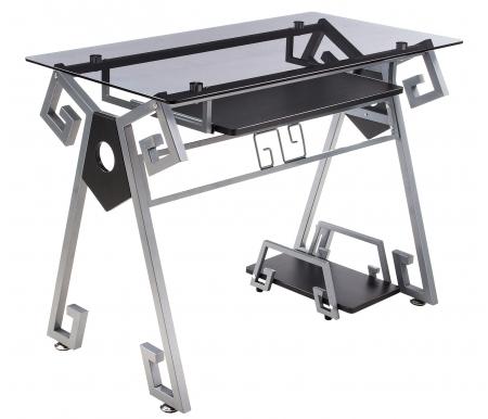 Купить Компьютерный стол Woodville, Pirit, Китай, silver - grey / shining silver