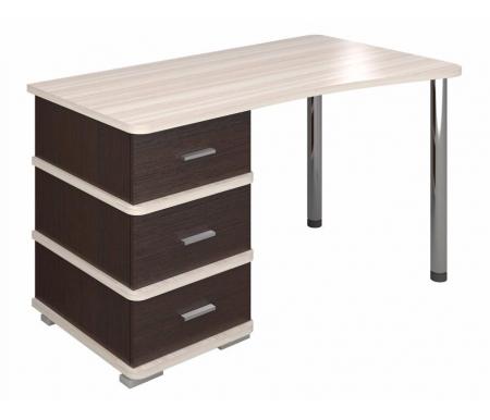 Компьютерный стол СД-35 венге / карамель со столешницей карамельКомпьютерные столы<br><br>