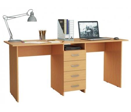 Компьютерный стол Тандем-2 МСТ-СДТ-02-##-16 букКомпьютерные столы<br>Выдвижные ящики на роликовых направляющих.<br>