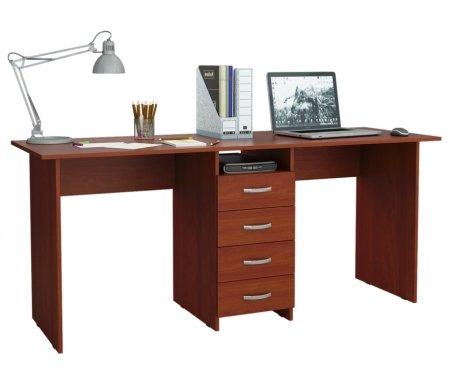 Компьютерный стол Тандем-2 МСТ-СДТ-02-##-16 итальянский орехКомпьютерные столы<br>Выдвижные ящики на роликовых направляющих.<br>