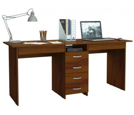 Компьютерный стол Тандем-2Я МСТ-СДТ-2Я-##-16 орехКомпьютерные столы<br>Под столом расположены вместительные ящики. Все ящики на роликовых направляющих.<br>