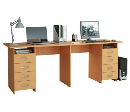 Компьютерный стол Тандем-3 МСТ-СДТ-03-##-16 букКомпьютерные столы<br>Выдвижные ящики на роликовых направляющих.<br>