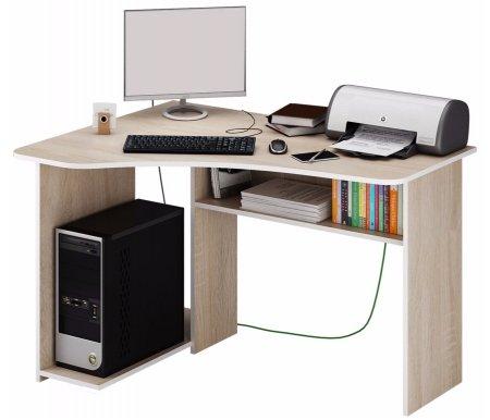 Компьютерный стол Триан-1 МСТ-УСТ-01-##-16 дуб сономаКомпьютерные столы<br>Выдвижные ящики на роликовых направляющих.<br><br>      <br>    <br><br>Срок изготовления - 7 рабочих дней!<br>