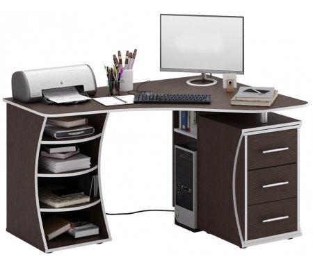 Компьютерный стол Триан-43 МСТ-УСТ-43-##-16-ПР правый венгеКомпьютерные столы<br>Выдвижные ящики на роликовых направляющих. <br> <br>      <br>     <br> <br>Срок изготовления - 7 рабочих дней!<br>