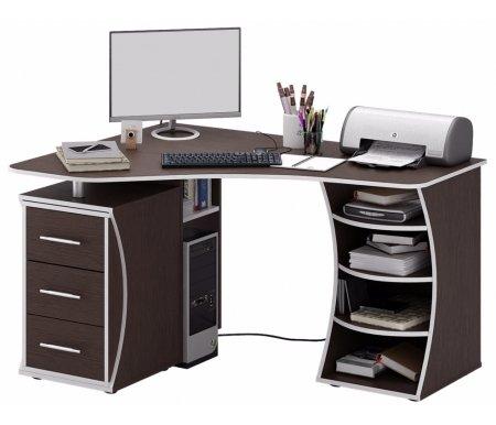 Компьютерный стол Триан-43 МСТ-УСТ-43-##-16 венгеКомпьютерные столы<br>Выдвижные ящики на роликовых направляющих. <br> <br>      <br>     <br> <br>Срок изготовления - 7 рабочих дней!<br>