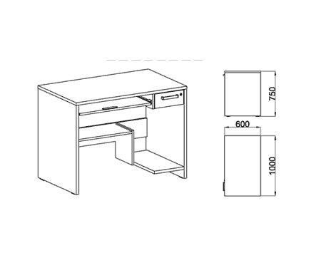 Компьютерый стол Фабрика БИС