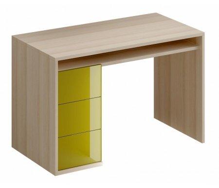 Здесь можно купить Mix Plus 118 см оливковый глянец  Письменный стол ОГОГО Обстановочка