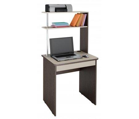 Стол компьютерный Витра, Фортуна 37, венге / дуб кобург  - Купить