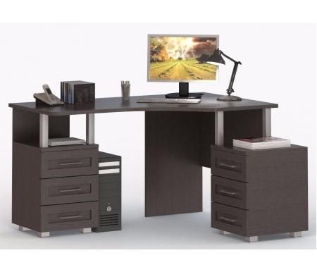Стол компьютерный (правый) СОЛО-005Компьютерные столы<br>Угловой стол СОЛО-005 выполнен из высококачественной ламинированной ДСП, относящейся к самой экологичной группе ДСП. Эргономичный дизайн позволяет максимально удобно организовать рабочее место. К данному столу идеально подойдет надстройка: СОЛО-007.<br><br>Ширина: 145 см<br>Глубина: 120 см<br>Высота: 77 см<br>Материал: ЛДСП<br>Цвет корпуса: венге, молочный дуб, слива<br>Цвет фасада: венге, венге / молочный дуб, слива / молочный дуб,<br>.: молочный дуб, слива<br>Вес: 70 кг