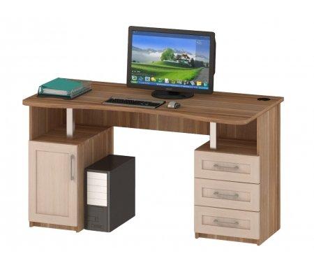Здесь можно купить (прямой) СОЛО-021  Стол компьютерный Васко