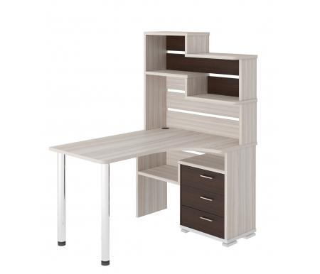 Стол компьютерный СР-132 карамель / венгеКомпьютерные столы<br><br>