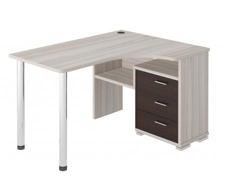 Стол компьютерный СР-132С венге / карамельКомпьютерные столы<br><br>