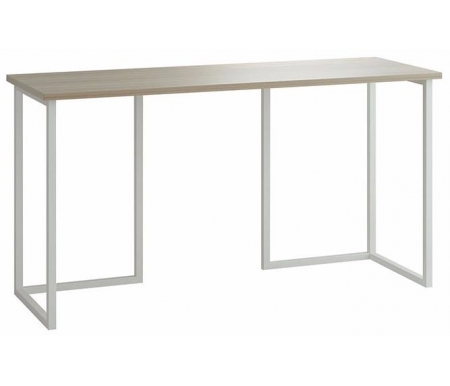 Здесь можно купить Board 140 х 50 см столешница дуб сонома / ножки белые  Стол письменный ОГОГО Обстановочка