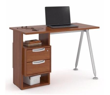 Здесь можно купить НСП-2 левый яблоня  Стол письменный Фабрика БИС
