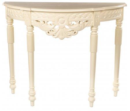 Консоль CSR-01Консольные столы<br>Консоль CSR-01 выполнена в стилистике классицизма. <br>Необычный резной декор в флористической тематике, изящные линии и благородный цвет придают модели уникальность, а качество исполнения делает ее эталоном.<br><br>Цвет: Inter (темный орех)<br>Цвет: NBA Pecan M (итальянский орех)<br>Цвет: Antique (вишня)<br>Цвет: Walnut (орех)<br>Цвет: White glaze (белый глянцевый)<br>Цвет: Ivory (слоновая кость)<br>Ширина: 100 см<br>Глубина: 40 см<br>Высота: 80 см<br>Материал: массив красного дерева<br>Цвет: inter (темный орех), NBA pecan M (итальянский орех), antique (вишня), walnut (орех), white glaze (белый глянцевый)