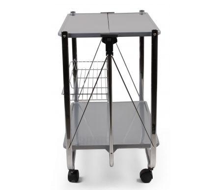 Складной сервировочный стол Lira серый от ЛайфМебель