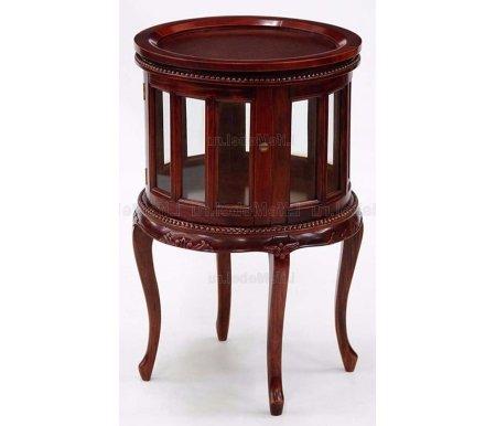 Чайный столик MJ-671Журнальные столы<br>Элегантный чайный столик выполнен из массива дерева, изящные ножки и оригинальная форма в сочетании с великолепным качество исполнения делают эту модель эталоном.<br><br>Цвет: Inter (темный орех)<br>Цвет: Ivory (слоновая кость)<br>Цвет: Antique (вишня)<br>Цвет: NBA Pecan M (итальянский орех)