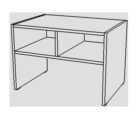 Журнальный стол НК мебель