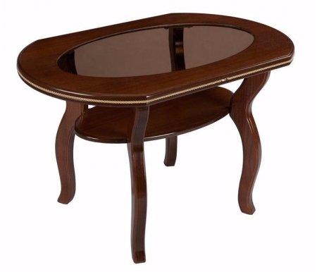 Стол журнальный Каприз СЖурнальные столы<br>Столешница выполнена из МДФ и покрыта шпоном ясеня.<br>