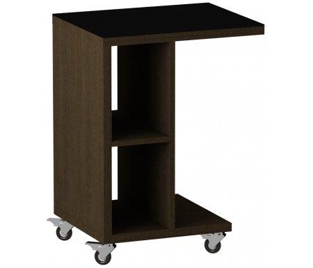 Стол журнальный Leset LS 741Журнальные столы<br>Стол журнальный Leset LS 741 отлично впишется в любую гостиную или спальню.<br> <br>Модель изготовлена из качественных материалов, оснащена колесиками.<br> <br>Столешница выполнена из стекла.<br>