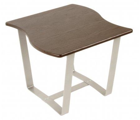 Журнальный стол Саут 2ДЖурнальные столы<br>Стол журнальный Саут 2Д - стильный журнальный столик необычной формы, подойдет для помещений с любым интерьером.<br> <br>Безусловно будет украшением квартиры, офиса или загородного дома.<br><br><br>  <br><br> <br>Из столов этой серии получаются оригинальные дизайнерские комбинации.<br> <br>Вместе с этим столом комбинацию могут образовывать: столСаут 1ДстолСаут 1Си столСаут 2С.<br>