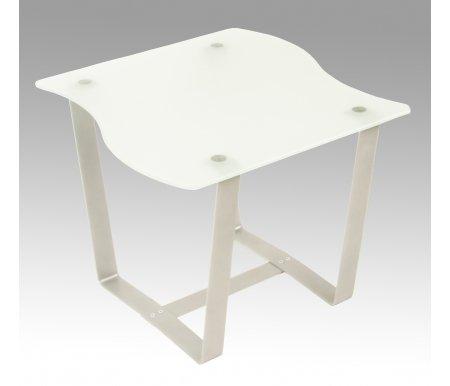 Журнальный стол Саут 2СЖурнальные столы<br>Стол журнальный Саут 2С необычной формы со столешницей из матового стекла замечательно подойдет для любого интерьера.<br> <br>Бесспорно будет украшением квартиры, офиса или загородного дома.<br> <br> <br>  <br> <br> <br>Из столов этой серии получаются оригинальные дизайнерские комбинации.<br> <br>Вместе с этим столом комбинацию могут образовывать: столСаут 1ДстолСаут 1Си столСаут 2Д.<br>