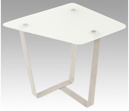 Журнальный стол Саут 6СЖурнальные столы<br>Стол журнальный Саут 6С трапецевидной формы со столешницей из матового стекла, легко войдет в любой интерьер.<br> <br>Обязательно будет украшением квартиры, офиса или загородного дома.<br> <br> <br>  <br> <br> <br>Из столов этой серии получаются оригинальные дизайнерские комбинации.<br> <br>Вместе с этим столом комбинацию могут образовывать: столСаут 7истолСаут 6Д.<br>