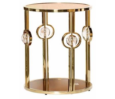 Купить Журнальный стол Garda Decor, 13RXET6034 gold, Китай