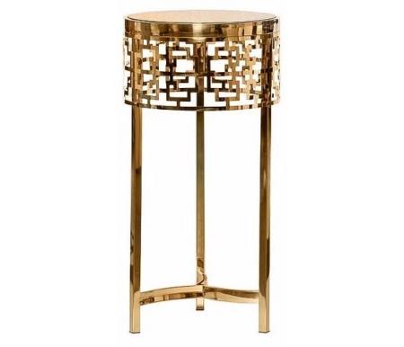 Купить Журнальный стол Garda Decor, 13RXFS5080L gold, Китай