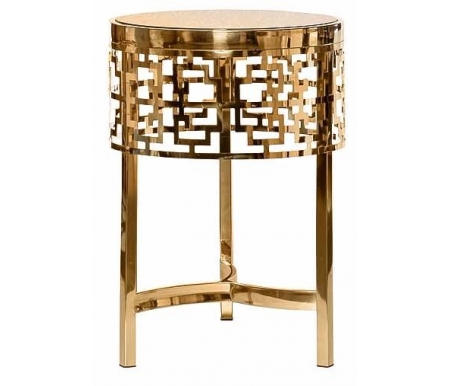 Купить Журнальный стол Garda Decor, 13RXFS5080M gold, Китай