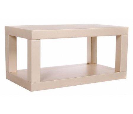 Журнальный стол 25 (ИЛ-102)Журнальные столы<br>Журнальный стол 25 (ИЛ-102) прекрасно впишется в интерьер современной гостиной. <br>  Каркас данной модели изготовлен из дерева, обит экокожей.<br>