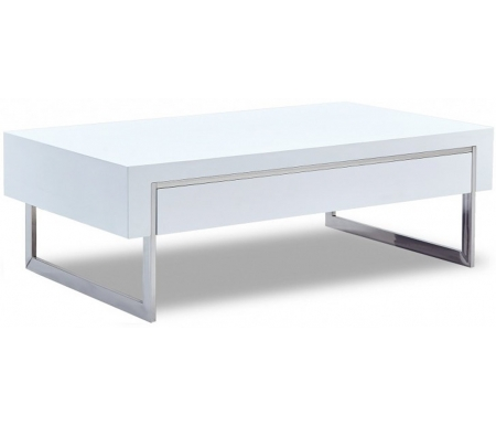 Купить Журнальный стол ESF, CT-140 белый / Elite белый, Китай