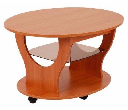 Журнальный стол ФараонЖурнальные столы<br>Выполнен из ЛДСП (16 мм) и ПВХ (0,4 и 1,0 мм). Стекло крашеное, толщиной 4 мм. Имеет колесные опоры, благодаря чему мобилен и практичен.<br>