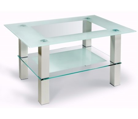 Журнальный стол Кристалл 2Журнальные столы<br>Размер полки: 50 см х 70 см. <br> <br>  <br> <br> <br>Сечение ножек: 6 см х 6 см.<br>