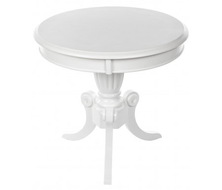 Журнальный стол MOON pure whiteЖурнальные столы<br>В данной модели столешница покрыта текстурированным шпоном.<br>