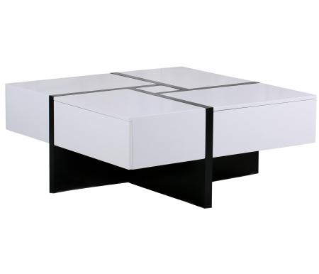 Купить Журнальный стол Мик, раскладной MK-5804-WT white