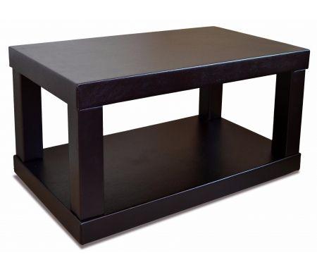 Журнальный стол Сакура 2Журнальные столы<br>Журнальный столСакура 2изготовлен из многослойной фанеры и обит эко-кожей. Имеет колесные опоры. Отлично подойдет для для гостиной. Необычное сочетание стиля и исполнения делают эту модель идеальным решением для помещений в стиле и минимализм.<br><br>Цвет: Венге<br>Цвет: Слоновая кость