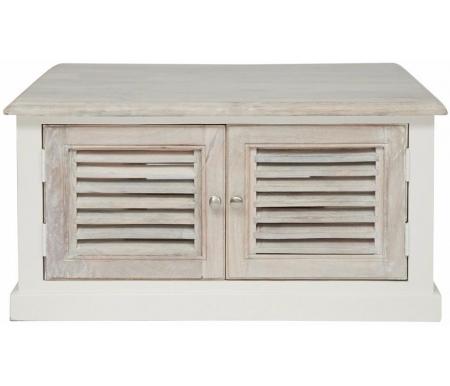 Купить Журнальный стол Тетчер, Secret De Maison Riviera (mod. 2324) античный белый, Индия, аntique white / whitewash