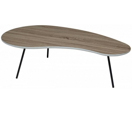 Купить Журнальный стол Мебель Малайзии, Wood 61 4 дуб серо-коричневый винтажный, Китай