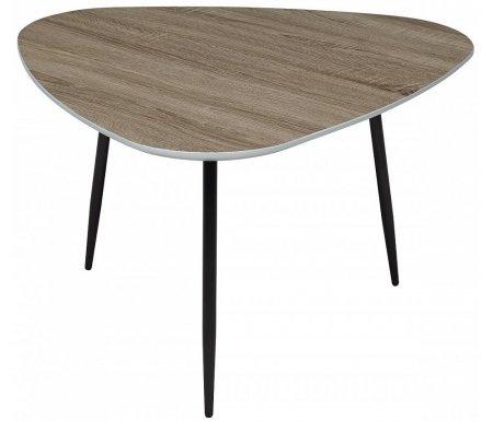 Купить Журнальный стол Мебель Малайзии, Wood 62 4 дуб серо-коричневый винтажный, Китай