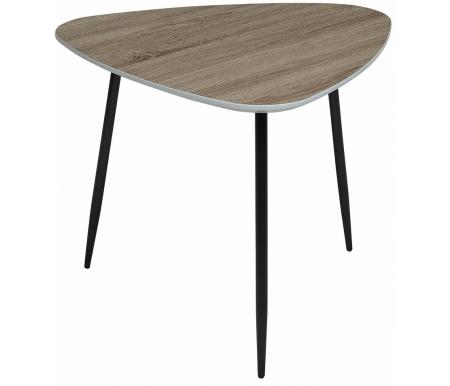 Купить Журнальный стол Мебель Малайзии, Wood 62S 4 дуб серо-коричневый винтажный, Китай