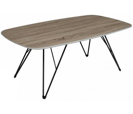 Купить Журнальный стол Мебель Малайзии, Wood 83 4 дуб серо-коричневый винтажный, Китай