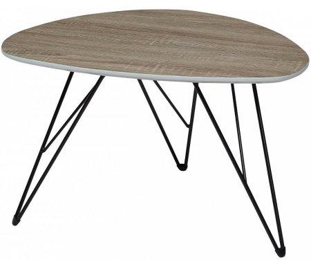 Купить Журнальный стол Мебель Малайзии, Wood 84 4 дуб серо-коричневый винтажный, Китай