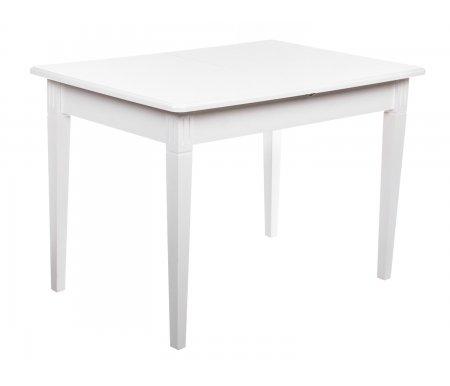 Обеденный стол Барсук белая эмальДеревянные столы<br>Материал столешницы : шпон дуба<br>Ножки :  массив березы.<br>