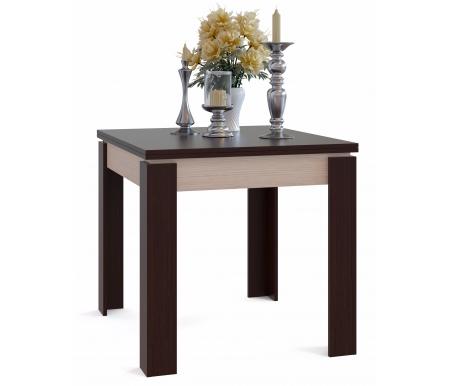 Обеденный стол СО-2 беленый дуб / венгеДеревянные столы<br>Столешница изготовлена из ЛДСП, толщиной 16 мм.<br>