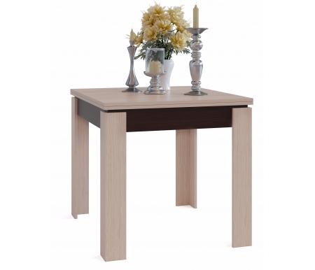 Обеденный стол СО-2 венге / беленый дубДеревянные столы<br>Столешница изготовлена из ЛДСП, толщиной 16 мм.<br>