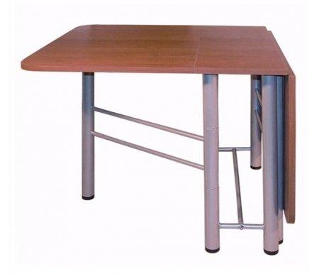 Обеденный стол Венеция 003 орехДеревянные столы<br>Обеденный стол Венеция 003 имеет механизм книжка , в собранном состояние он легко транспортируется и занимает совсем не много места. Подходит для использования как в гостиной, так и на кухне.<br>