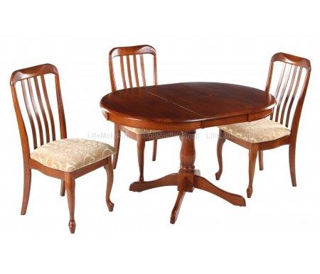 Стол AchillesДеревянные столы<br><br><br>Цвет: Maf brown (коричневый в рыжину)<br>Цвет: Espresso (дуб в красноту)