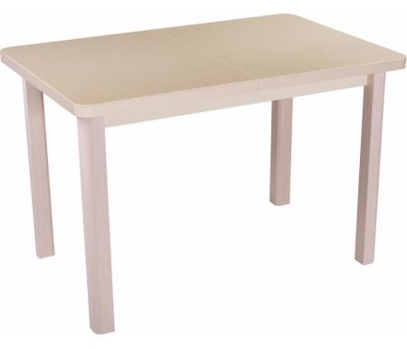 Стол Альфа ПР-1 КМ молочный дуб / км 06 / ножка 04 молочный дубДеревянные столы<br><br>