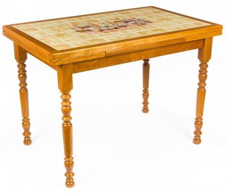 Стол ARGENS Rustique PT ChemineeДеревянные столы<br>Стол ARGENS раскладывается до 170 см. Рисунок столешницы -Rustique PT Cheminee. <br>Упакован в одну коробку, поставляется в разобранном виде.<br>